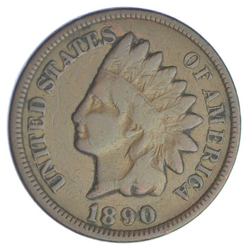 1890 Indian Head Cent - Over 115 Years Old