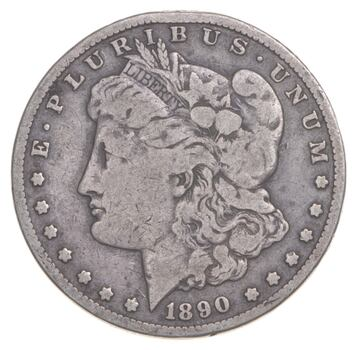 1890-CC Morgan Silver Dollar - Walker Coin Collection