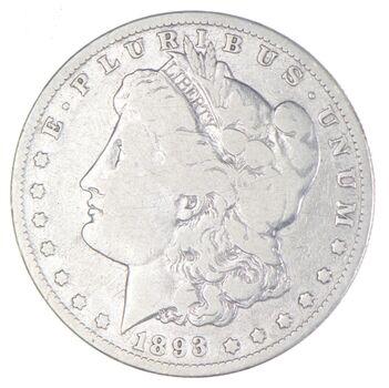 1893-O Morgan Silver Dollar - Charles Coin Collection