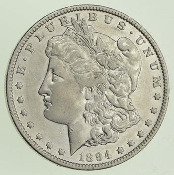 1894-O Morgan Silver Dollar - Near Uncirculated