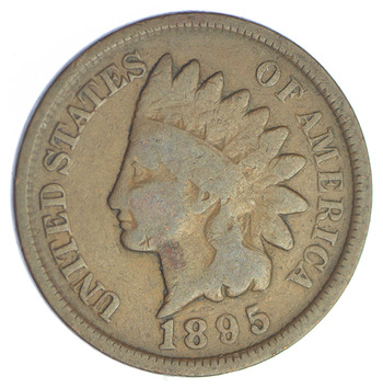 1895 Indian Head Cent - Over 115 Years Old