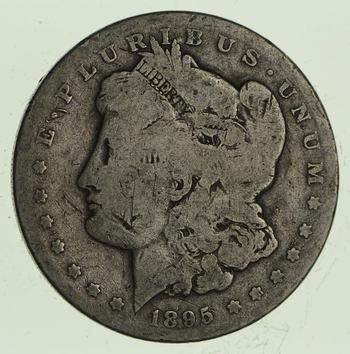 1895-S Morgan Silver Dollar - Circulated
