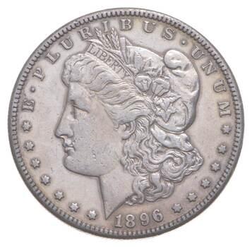 1896-S Morgan Silver Dollar