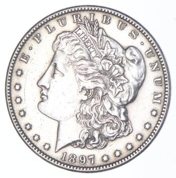 1897 Morgan Silver Dollar - US Coin