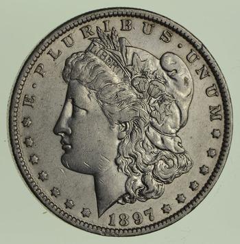 1897-O Morgan Silver Dollar - Circulated
