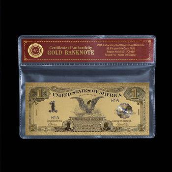 1899 Black Eagle - Silver Certificate - $1.00 - Replica US Bank Note