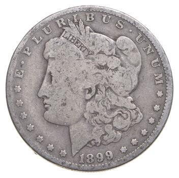 1899-O Morgan Silver Dollar - Micro O