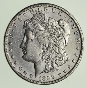 1899-S Morgan Silver Dollar - Near Uncirculated