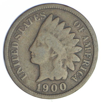1900 Indian Head Cent - Over 115 Years Old