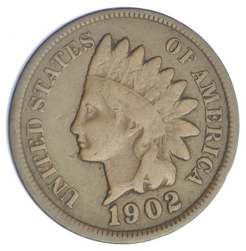1902 Indian Head Cent - Over 110 Years Old