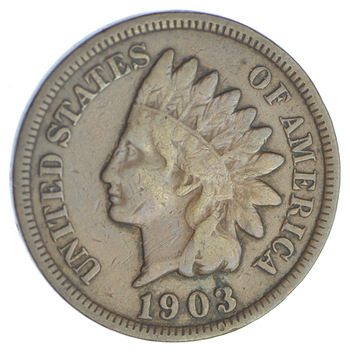 1903 Indian Head Cent - Over 110 Years Old