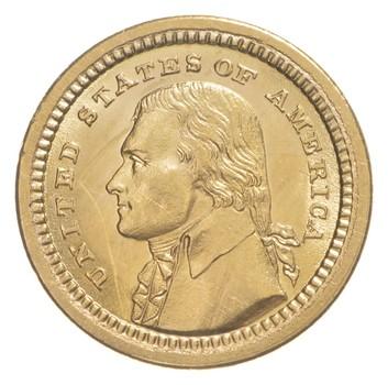 1903 Louisiana Purchase Exposition Commemorative Gold Dollar