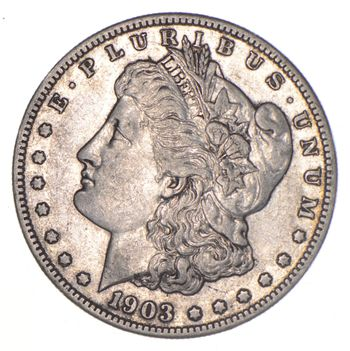 1903-S Morgan Silver Dollar - KEY DATE