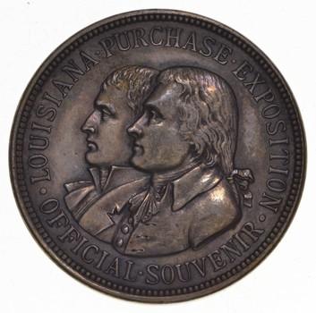 1904 Louisiana Purchase Exposition Official Souvenir Token