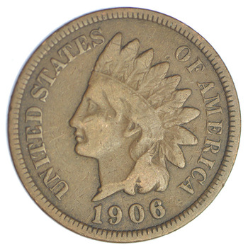1906 Indian Head Cent - 100 Years Old