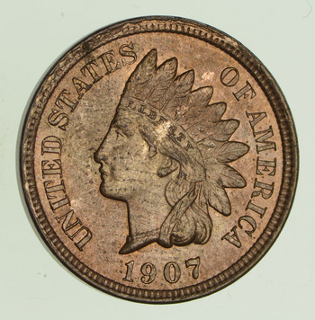 1907 Indian Head Cent - Uncirculated