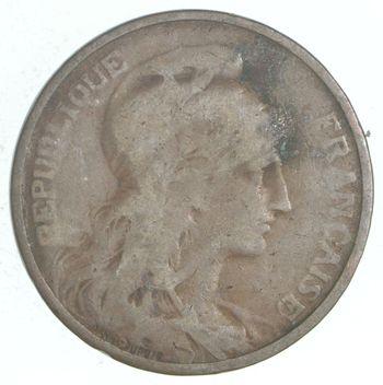 1908 France 5 Centimes