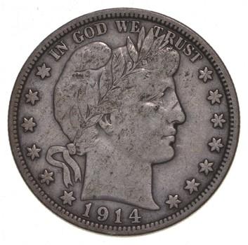 1914 Barber Half Dollar - RARE