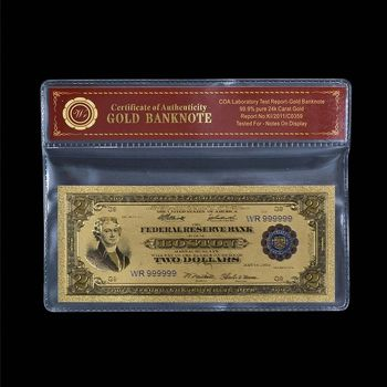 1918 Boston - $2.00 Battleship - US Bank Note - Replica