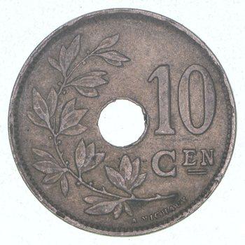 1920 Belgium 10 Centimes
