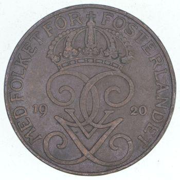 1920 Sweden 5 Ore