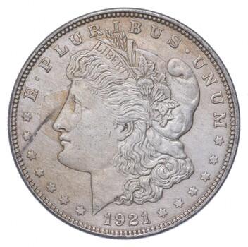 1921 Morgan Silver Dollar - US Coin