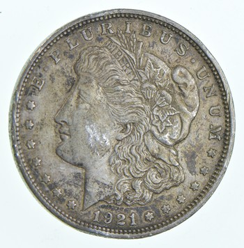 1921-D Morgan Silver Dollar - Charles Coin Collection