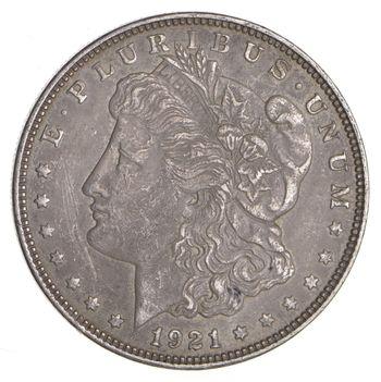 1921-D Morgan Silver Dollar - Last Year Issue 90% $1.00 Bullion