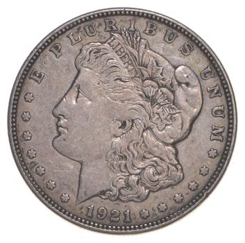 1921-D Only Denver Minted Morgan Silver Dollar