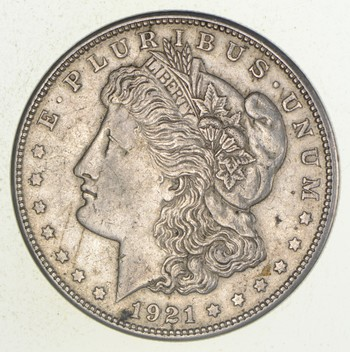 1921-S Morgan Silver Dollar - Advertising
