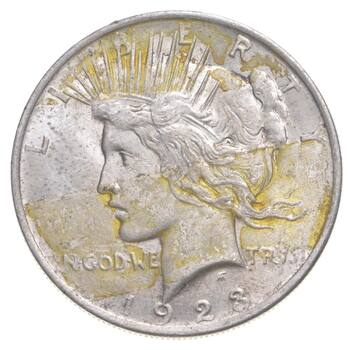 1923 Peace Silver Dollar - Charles Coin Collection