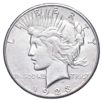 1923-S Peace Silver Dollar - US Coin