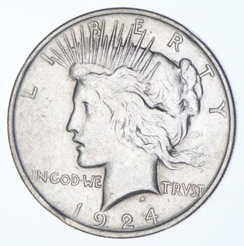 1924 Peace Silver Dollar - US Coin