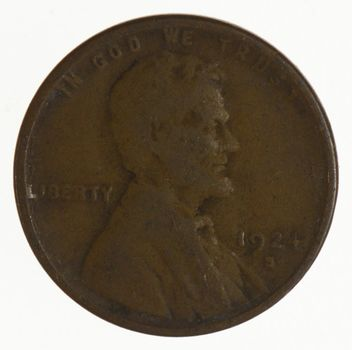 1924-S Lincoln Wheat Cent - Early - San Francisco Minted