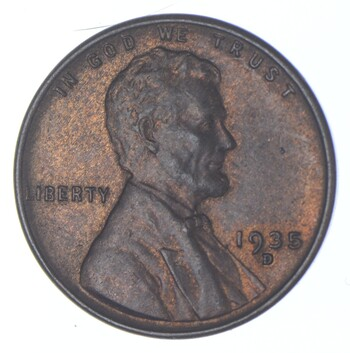 1935-D Lincoln Wheat Cent - Walker Coin Collection