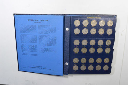 1938-2008 w/ BU and Proof Jefferson Nickel Set Coin Collection Lot Album