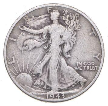 1943-D Walking Liberty 90% Silver US Half Dollar