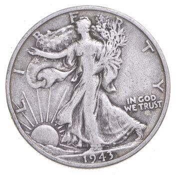 1943-S Walking Liberty 90% Silver US Half Dollar