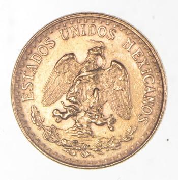 1945 Mexico 2 Pesos Gold Bullion