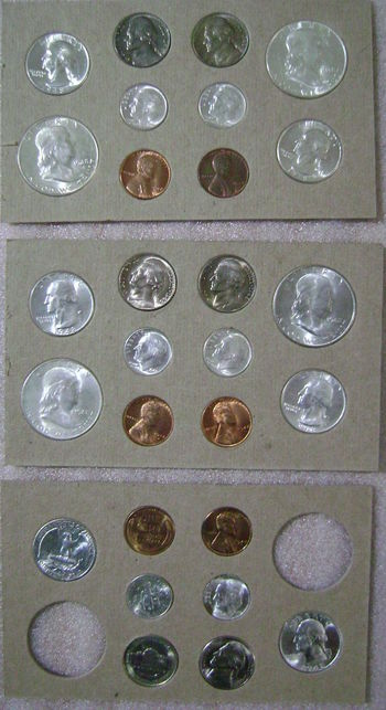 1948 - 28 Coin - Uncirculated Mint State Coin Set - Nice