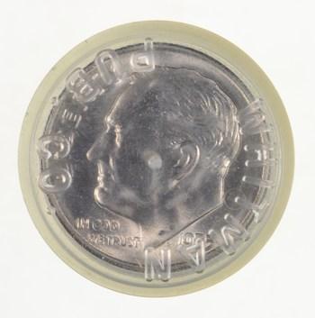 1955-S Original Roll BU Roosevelt Dime - Unc $5 Face 90% SILVER 50 COINS