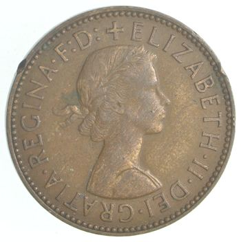 1958 Great Britain 1/2 Penny