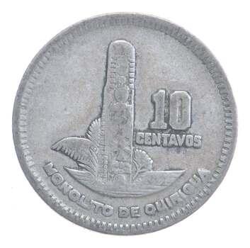 1958 Guatemala 10 Centavos
