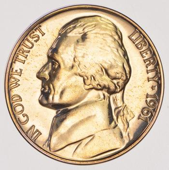 1961 PROOF Jefferson Nickel