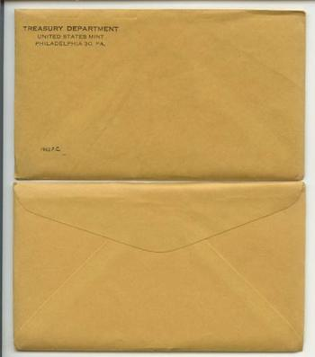 1962 Unopened (Envelope Still Sealed) U.S. Silver Proof Set - May Contain Franklin Half Dollar Worth Up to $8,000
