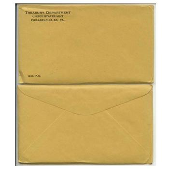 1963 Unopened (Envelope Still Sealed) U.S. Silver Proof Set - May Contain Franklin Half Dollar Worth Up to $6,000