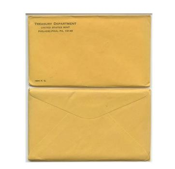1964 Unopened (Envelope Still Sealed) U.S. Silver Proof Set - May Contain Lincoln Cent Worth Up to $12,500