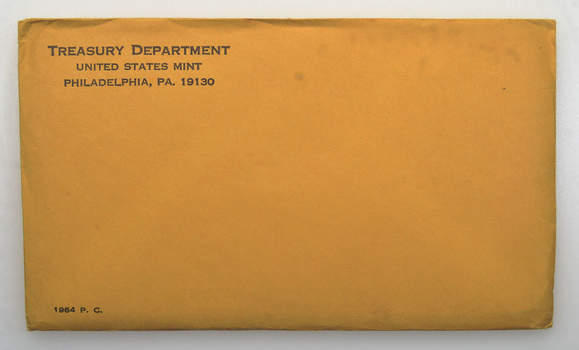 1964 US Proof Set - 5 Coins Penny Nickel Dime Quarter Half Dollar