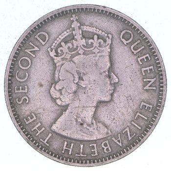1968 British Honduras 25 Cents
