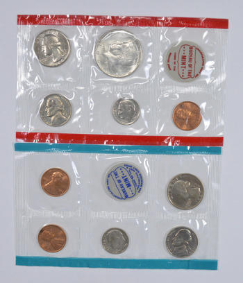 1969 United States Mint Uncirculated Coin Sets